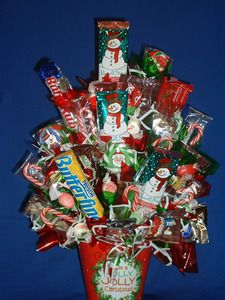 Christmas Large Candy Arrangement - Bouquet $26.00