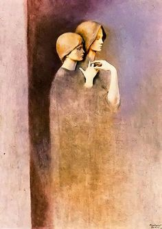 Por amor al arte: Montserrat Gudiol Illustrator, Henna Drawings, Spanish Artists, Old Paintings, Ap Art, Classical Art, Gothic Art, Figure Painting, Indian Art