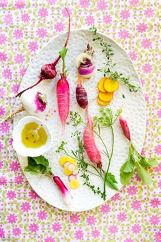 pretty root veggies