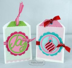 Treat Toppers Tags By: Kendra Wietstock #Christmas, #Tags, #TE, #ShareJoy