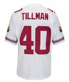 Amazon.com: Pat Tillman Arizona Cardinals White Stitched Throwback Jersey: Sports & Outdoors **Doesn't have to be the expensive Authentic Mitchell & Ness though**