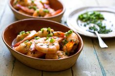 Chile powder adds sting, honey lends sweetness, and butter gives a creamy richness to these succulent roasted shrimp Even better, the dish comes together in minutes, making it an ideal after-work meal or extremely speedy appetizer The shrimp are also excellent tucked into a baguette for a shrimp sandwich