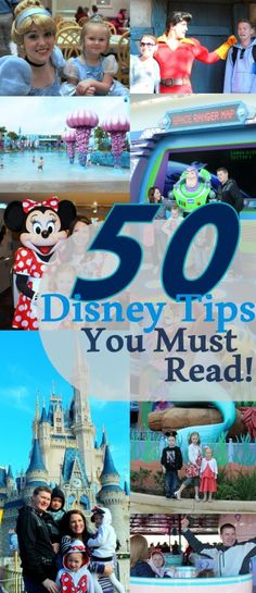 50 Disney Tips You M