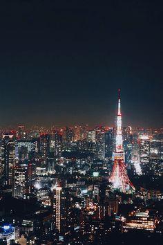 Tokyo Tower (edwardkb) | instagram