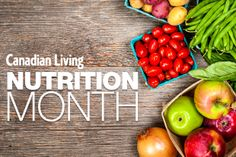 Nutrition month ideas