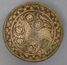 Bowl Date: 11th–12th century Geography: Iran Culture: Islamic Medium: Earthenware, glazed Accession Number: 24.159.3