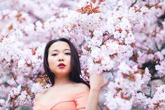 Miss sakura: spring fashion photoshoot in regent's park, london Cherry Blossom Pictures, Sakura Cherry Blossom, Cherry Blossoms, Beauty Quotes For Women, Women Poetry, Professional Portrait, Beauty Logo, Beauty Photos, Flower Backgrounds