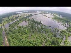 Red River Flooding Bowie County - YouTube