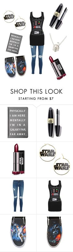 """""""So freakin excited!!!!"""" by lydiaviolet ❤ liked on Polyvore featuring Forever 21, Max Factor, Current/Elliott and Vans"""