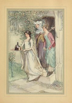 The Merry Wives of Windsor (1910).  Ills. by Hugh Thomson