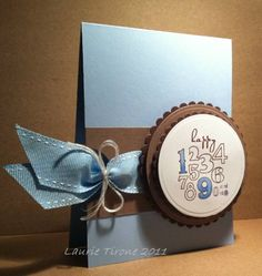 CAS117 ... the birthday blues by HamiltonGal - Cards and Paper Crafts at Splitcoaststampers