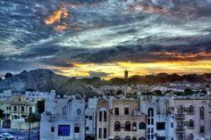 Before sunrise, Darsait-Muscat. photo: Siddharth