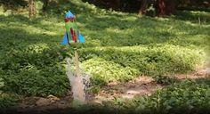 Aprenda como fazer um incrível foguete em casa usando garrafa PET, vinagre e bicarbonato de sódio! + Foguete de PET com água