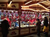 Gingerbread stall at Xmas market
