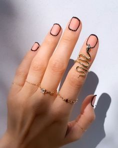 Acrylic Nail Designs - Nail art is the essence of decent beauty as nails speak volume about you. Traveled through the anci - Remove Acrylic Nails, Fall Acrylic Nails, Fall Nail Art, Funky Nails, Trendy Nails, Cute Nails, Minimalist Nails, Cool Nail Designs, Acrylic Nail Designs