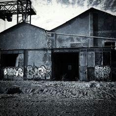 Fabbrica abbandonata, Savona, italia