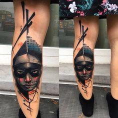 30 originálních tetování - listopadová inspirace / Dvě hlavy