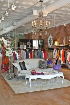SOUTH CAROLINA: AUGUSTA 20 20 Augusta Street Greenville, SC 864-233-2600 augustatwenty.com Why you'll love it: This boutique not only combines trendy and timeless fashions, but also offers books and an eclectic mix of vintage accessories. What you'll find: Erin Fetherston, Graham & Spencer, Rebecca Minkoff, Tokyo Milk