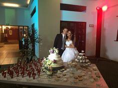 Mesa de postres, boda de lety López