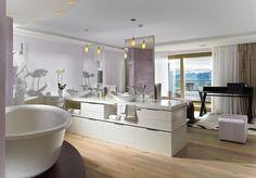 dcouvrez les ides dco et damnagement de marion arnoud loherst sur domozoomcom comment faire la sparation entre la chambre et la salle de bains dans - Idee De Separation Salle De Bain