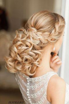 Elstile Long Wedding Hairstyle Ideas 16