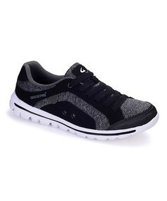 Another great find on #zulily! Black & Gray Sneaker #zulilyfinds