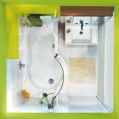 Charming Bade  Und Duschspaß Im Kleinen 2,6 M² Bad