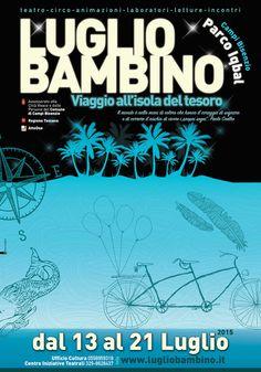 Manifesto evento Luglio Bambino Festival 2015  • Sonia Squilloni Graphic Designer