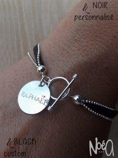 bracelet multi chaines medaille gravé prénom