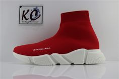 SAINTPABLO AUTH BNIB BALENCIAGA SPEED TRAINER RED Balenciaga Speed Trainer c7ec93a7c