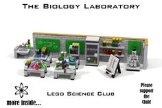 LEGO Ideas - The Biology Laboratory / Lego Science Club (Part3)