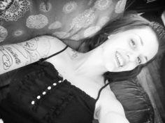 Beautiful Smile Be You Tattooed Girl