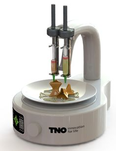 Will 3d printers manufacture your meals?