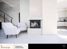 Salon z kominkiem | Dekoratorium magazyn