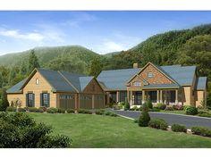Mountain House Plan, 053H-0013