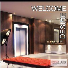 Projeto Camila Klein #lobby #arquitetura #