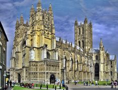Canterbury Cathedral. Mother church to the international Anglican Protestant Faith, Kent, England