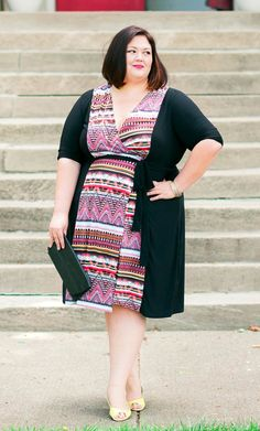 7bf8fcfa5 Blogger Emmie from authenticallyemmie.com is on trend with our plus size In  the Mix