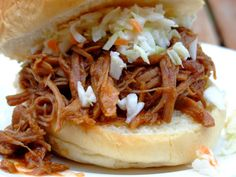 From Beyond My Kitchen Window: Pulled Pork and Cole Slaw