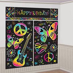 One of the simplest, fun, interactive activities to have at your glow party is a Graffiti Wall. Your guests can all contribute to a large art space which will result in a dynamic, colorful and fun…
