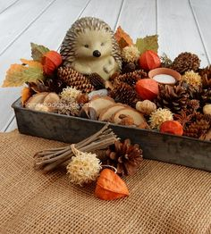 Autumn in your house / Herfst in je huis autumnday Autumn Garden, Autumn Home, Seasonal Decor, Fall Decor, Table Centerpieces, Table Decorations, Autumn Crafts, Holidays And Events, Fall Halloween