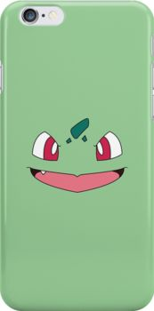 Bulbasaur - Go buy this in my RedBubble shop! It's available on shirts, phone cases, mugs, pillows, tote bags, laptop skins, and more!