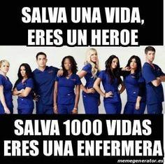 #enfermera #enfermeria #frases #salvamos #vidas