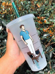 Personalized Starbucks Cup, Custom Starbucks Cup, Personalized Cups, Cricut Vinyl, Vinyl Decals, Jeep Jk, Harry Styles, Disney Cups, Georgia