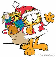 Garfield Hits Holiday Parade Circuit