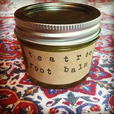 Fresh Picked Beauty: Tea Tree Foot Balm recipe
