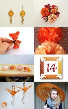 power orange by Kanae   on Etsy--Pinned with TreasuryPin.com