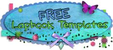 Dozens of unique free Lapbook Templates