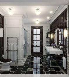 Bathroom for Kids in Modern Classics Style | InteriorHolic.com