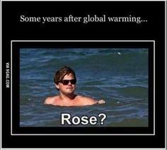 Titanic Global Warming - 9GAG